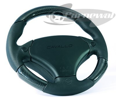 Cavallo 340mm leather/real carbon