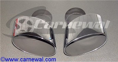 Big Oval Exhaust Tips - C2/C4