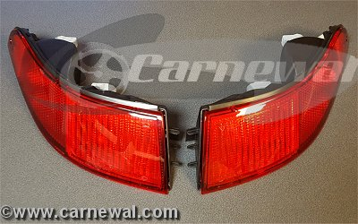 Tail Lights USA Red