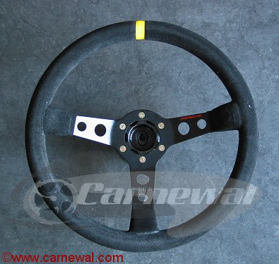 Cup Steering Wheel with Quick Release