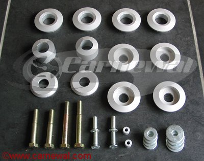 Rigid Shim Kit for 993 Cars