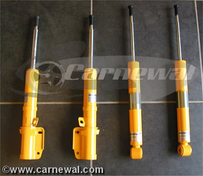 RoW Sport Suspension with Koni Sport Shocks for C4/C4S
