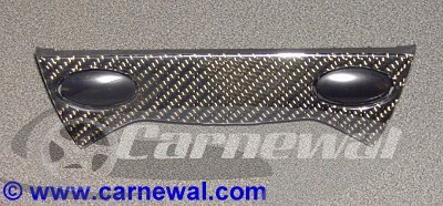 Carbon Trim for Center Console 2 Switches