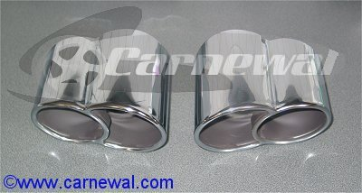 Twin Tail Pipes for 996 C4S