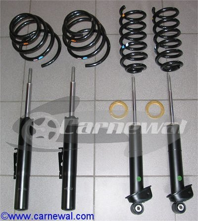 RoW Sport Suspension for US P96 C4S