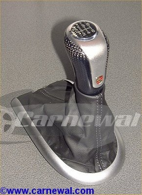 Carbon Leather Shifter