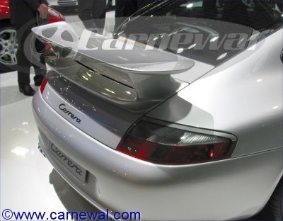 Aerokit Cup II Rear Spoiler for 996 cars