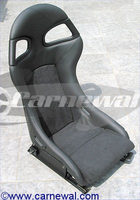GT3 Seats in Leather with Alcantara  for 996 Cars