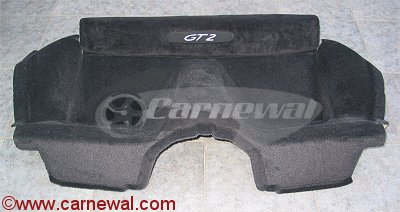 GT2/GT3 Rear Carpets with Insignia