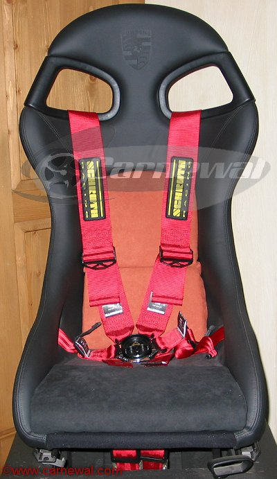 Schroth Clubsport 6 Point Harness for 996GT3 Seat