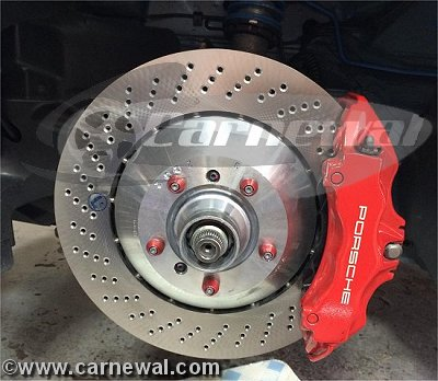 GT3 Cup Front Rotors 380mm