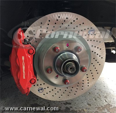 GT3 Cup Rear Rotors 350mm